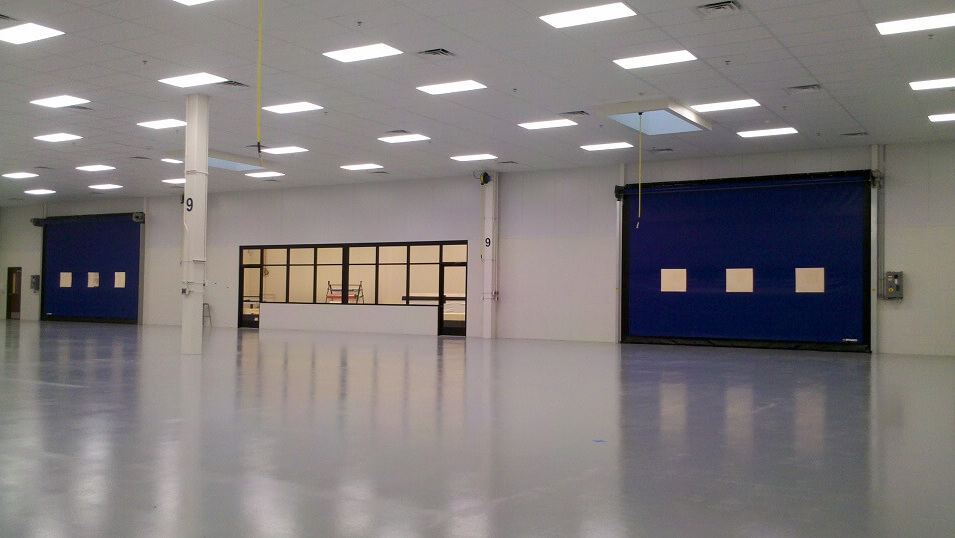 Janicki Industries Clean Room - Chad Fisher Construction
