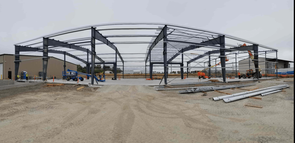 steel building construction - Lavelle