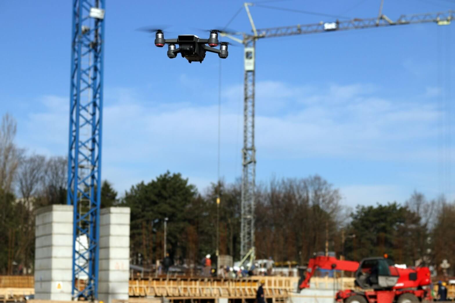 drones in commercial construction