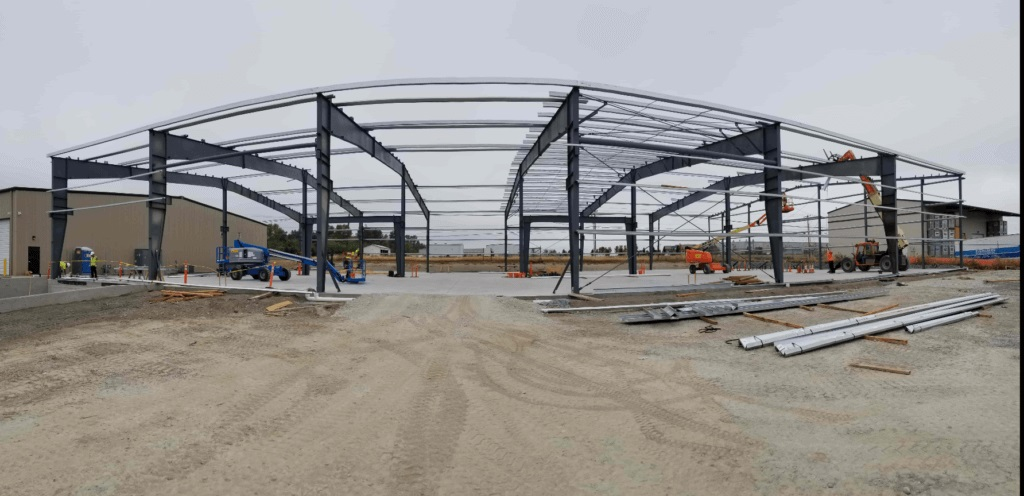 Pre-Engineered Commercial Building - Steel Building Construction - Chad Fisher Construction