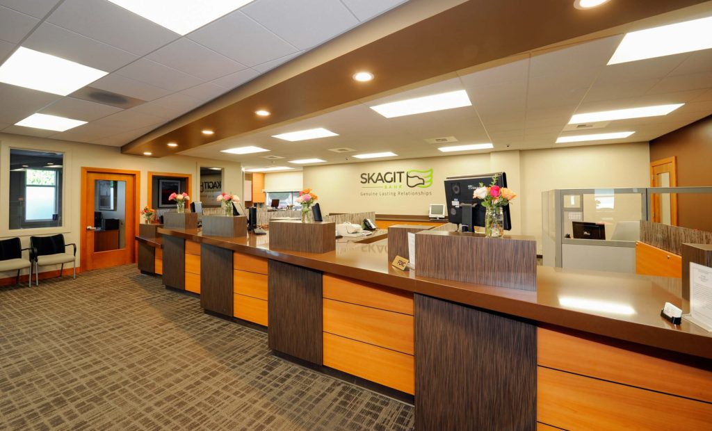 Tenant Improvement Construction - Skagit State Bank - Chad Fisher Construction