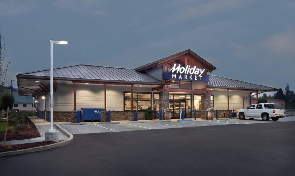 Holiday Mart - Commercial Retail Construction - Chad Fisher Construction