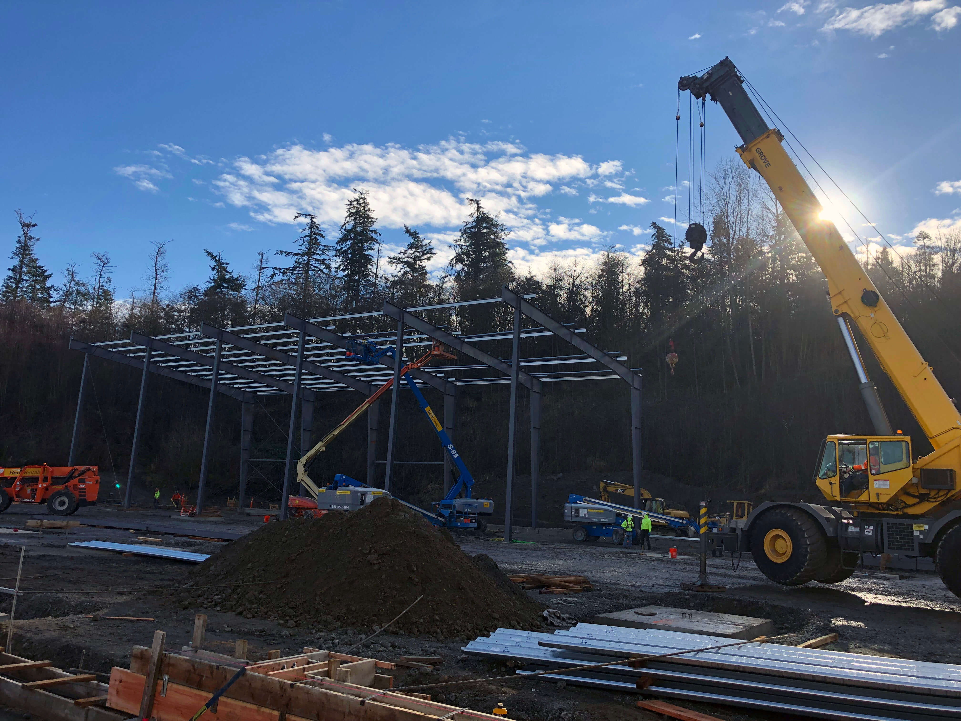 T Bailey Construction Site