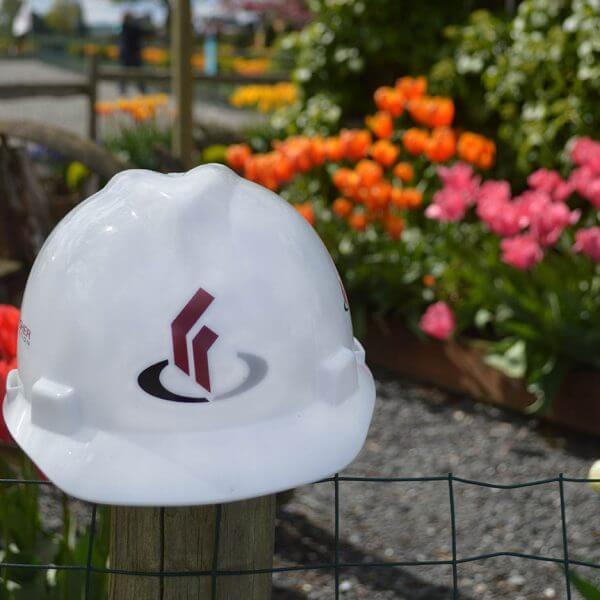 Hardhat-in-tulips-General-contractor-in-Skagit-County-Chad-Fisher-Construction