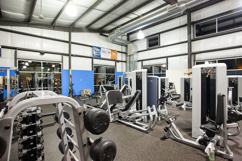 Chad Fisher Construction Thrive Fitness In Anacortes Wa